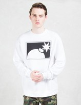 The Hundreds Forever Half Bomb Crewneck Sweatshirt