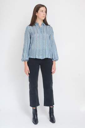 Levete Room - Gabrielle Shirt In Blue - M