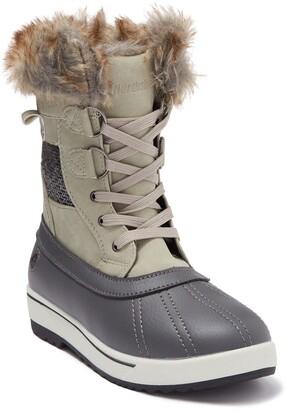 Northside Brookelle Faux Fur Lined Duck Boot - Wide Width