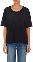 Current/Elliott Women's The Roadie Cotton T-Shirt-BLACK