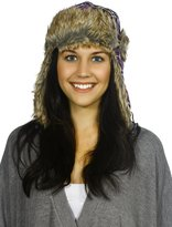 Simplicity Winter Faux Fur Pilot Russian Trapper Trooper Ski Hat