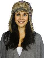Simplicity Winter Faux Fur Pilot Russian Trapper Trooper Ski Hat