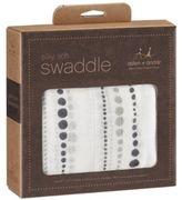 Aden Anais Aden + Anais ® Silky Soft Moonlight Single Swaddle in White
