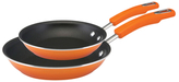 Rachael Ray Hard Enamel Non-Stick Skillets (Set of 2)