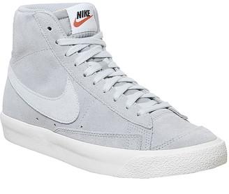 Nike Blazer Mid 77 Trainers Wolf Grey Pure Platinum Sail