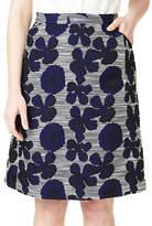 Precis Petite Elena Jacquard Skirt
