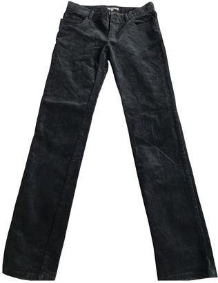 Bonpoint Blue Cotton Trousers for Women