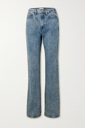 Frame Le Jane High-rise Straight-leg Jeans - Mid denim
