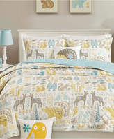 Ink+ivy INK+IVY Kids Woodland 4-Pc. Quilted Full/Queen Coverlet Set