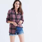 Madewell Flannel Classic Ex-Boyfriend Shirt in Nona Plaid