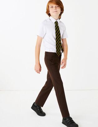 Marks and Spencer 2 Pack Boys' Slim Leg Trousers