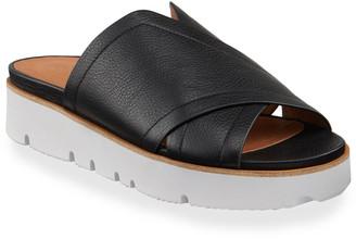 Gentle Souls Lavern X-Band Leather Slide Sandals