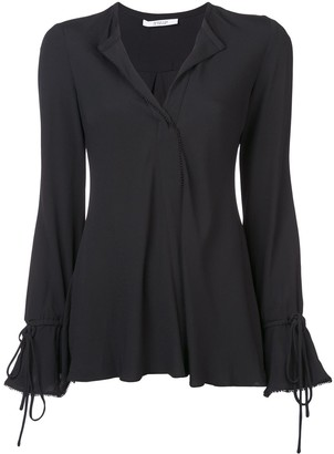 Derek Lam 10 Crosby bell sleeves V-neck blouse