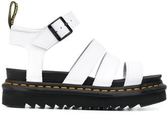 Dr. Martens Open Toe Ridged Sole Sandals