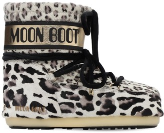 Moon Boot Mars Ponyskin Waterproof Snow Boots