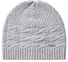 HUGO BOSS Gift Boxed Scarf And Beanie Hat - Silver