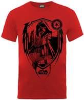 Star Wars Boys Vader Shield Short Sleeve T-Shirt
