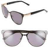 Ted Baker Women's 56Mm Modified Round Sunglasses - Black