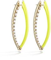Melissa Kaye Medium Cristina Earrings