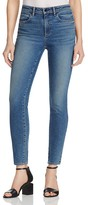 Alexander Wang Cropped Skinny Jeans in Medium Indigo Fade