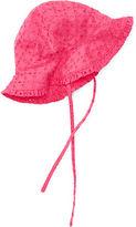 Ralph Lauren Eyelet Cotton Sun Hat