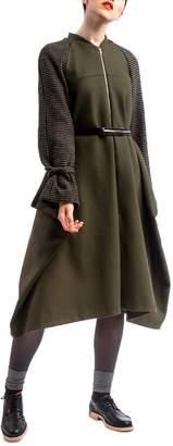 Clara Kaesdorf Versatile Winter Coat Green