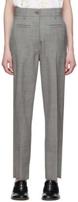 Loewe Grey Wool Fisherman Trousers