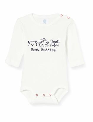 Sanetta Baby_Boy's Langarmbody Broken White Toddler Underwear Set