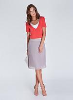Isabella Oliver Jamie Pleat Skirt