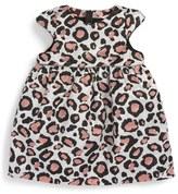 Little Marc Jacobs Couture Fancy Leopard Print Dress (Baby Girls)