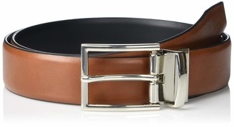Steve Madden Men's Reversible Split Leather Belt