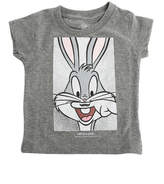 Little Eleven Paris Charcoal Bugs Bunny Tee
