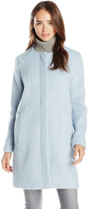BB Dakota Women's Vianne Brushed Wool Blend Coat