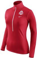 Nike Women's Ohio State Buckeyes Pro Hyperwarm Pullover