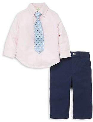 Little Me Baby Boy's 3-Piece Shirt, Tie Pant Set