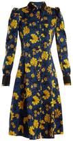 Altuzarra Filippa floral-print silk-jacquard shirtdress