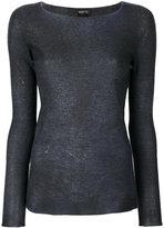 Avant Toi crew neck jumper - women - Silk/Polyester/Cashmere - S