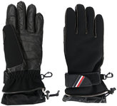Moncler padded logo plaque gloves