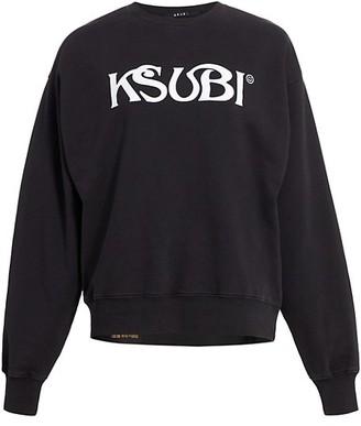 Ksubi Super Nature Ksmile Crewneck Sweatshirt