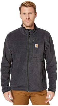 Carhartt Dalton Full Zip Fleece (Black Heather) Men's Coat