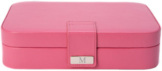Bey-Berk Pink Leatherette 24 Section Jewel Case