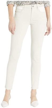 Current/Elliott The Original Stiletto in Oatmeal White (Oatmeal White) Women's Jeans
