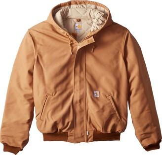 Carhartt Men's Big & Tall Flame Resistant Duck Active Jacket