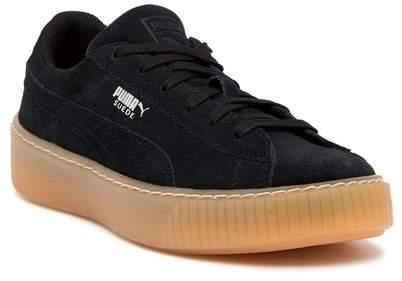 Puma Suede Platform Sneaker (Little Kid & Big Kid)