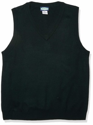 Classroom School Uniforms Men's Adult Unisex V-Neck Sweater Vest