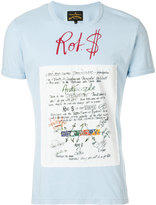 Vivienne Westwood scribble patch T-shirt
