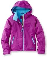L.L. Bean Girls' Glacier Summit Waterproof Jacket