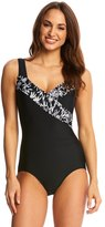 T.H.E. T.H.E Crystal Bamboo Mastectomy Surplice One Piece Swimsuit 8142243