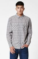 Brixton Wayne Checkered Long Sleeve Button Up Shirt