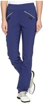 Jamie Sadock - Skinnylicious 41.5 in. Pant with Control Top Mesh Panel Women's Casual Pants
